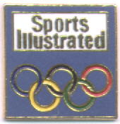 Sports Illustrated blue with rings