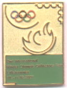 2nd International Winter Olympics Collectors fair 2001 with numb