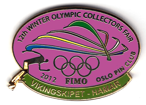 12th International Winter Olympic Collector`s Fair 2012 JUMBO